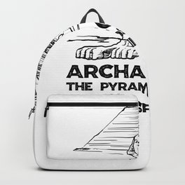 Archaeology The Pyramids of Giza and the Sphinx Backpack