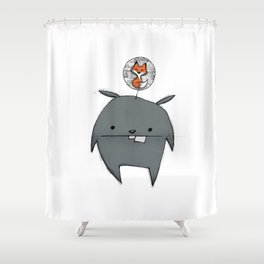 minima - rawr 01 Shower Curtain