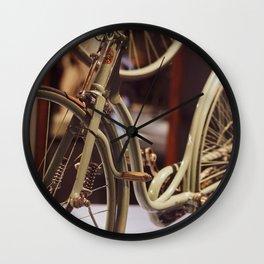Vintage Bicycle. Wall Clock