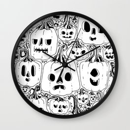 Club of Jacks Wall Clock