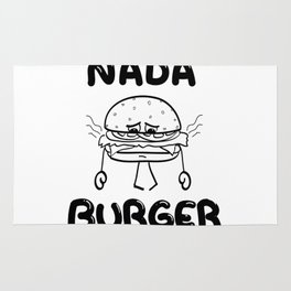 Nada Burger Rug