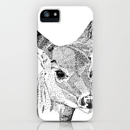 Deer Spirit iPhone Case