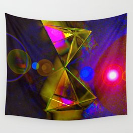 Blackhole Prism Wall Tapestry