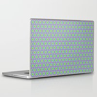 monsters inc Laptop & iPad Skins featuring Monsters, Inc. Circle Pattern by Jennifer Agu