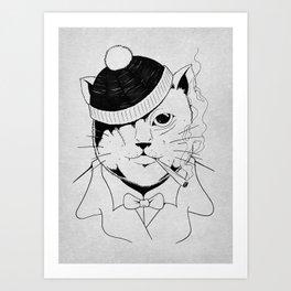 Alley Cat Art Print
