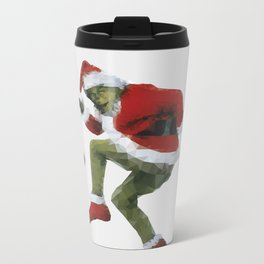 Christmas Grinch Metal Travel Mug