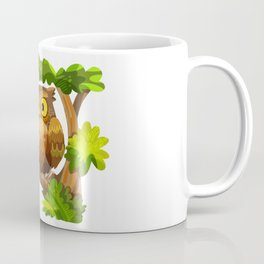 The Owl and The Squirrel Coffee Mug