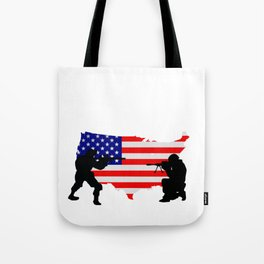 Red Friday for Women Men for Deployed Sons Solider Tote Bag