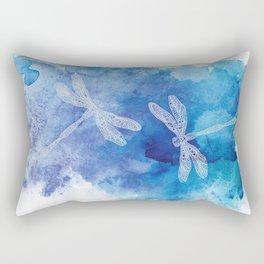 Dragon Flies Rectangular Pillow