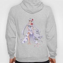 Sailor Moon Crystal Princess Serenity SILVER HAIR Hoody