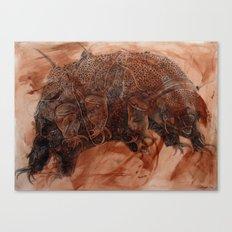 Tardigrade Canvas Print