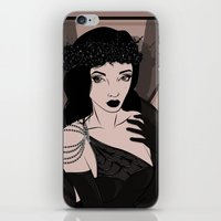 art deco iPhone & iPod Skins featuring Art Deco by Krakich