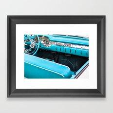 Timeless Turquoise Framed Art Print