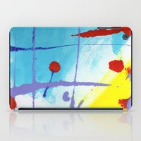 nicolas cage iPad Cases featuring Cage by Ink and Paint Studio
