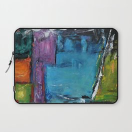 TETRIS, Abstract  Acrylic Painting, colorful mosaic Laptop Sleeve