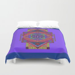 Just Another Roll of the Dice (Blue) Duvet Cover