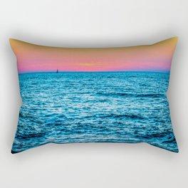 Sunset in Tel Aviv Rectangular Pillow