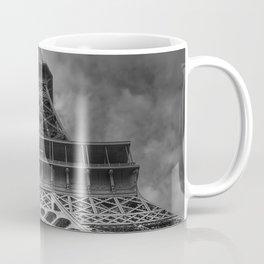 Black And White Eiffel Tower Coffee Mug