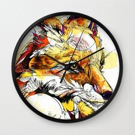 Fox Flow Wall Clock