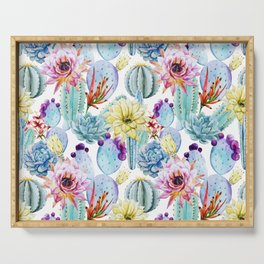 Cactus Pattern 11 Serving Tray