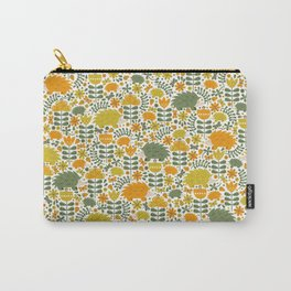 Autumn Hedgehog Forest Carry-All Pouch