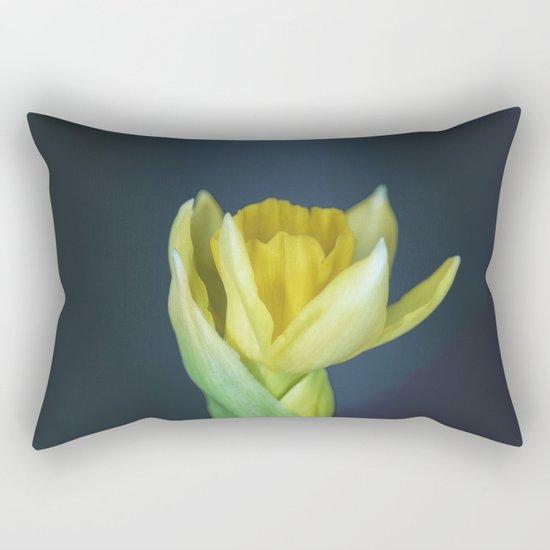 Early spring Flower Rectangular Pillow