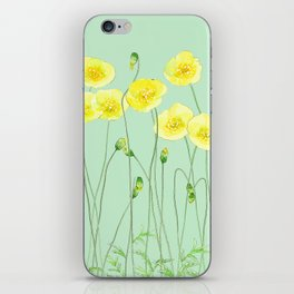 Yellow Wildflowers II iPhone Skin