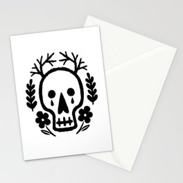 Misery Skull Stationery Cards