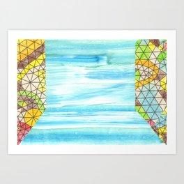 Fractal Field Art Print