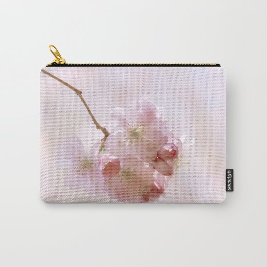 Cherry blossoms in Love - Cherryblossom Flower Floral Carry-All Pouch