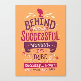 Successful women Canvas Print