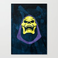 skeletor Canvas Prints featuring Skeletor by Some_Designs
