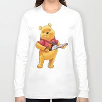 winnie the pooh Long Sleeve T-shirts featuring Winnie the pooh hardcore parody by Jin Ruukyu