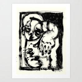 Lonesome Saint Art Print