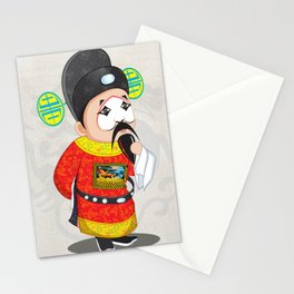 Beijing Opera Character TangQIN Stationery Cards
