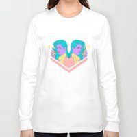 telephone Long Sleeve T-shirts featuring Telephone Baby by bahar sener
