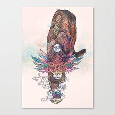 Journeying Spirit (Mountain Lion) Canvas Print