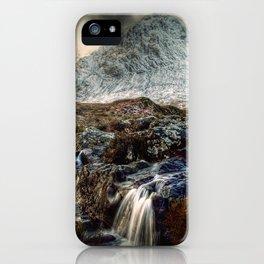 The Buachaille Etive Mor, Scotland iPhone Case
