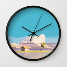 One Way Ride Wall Clock