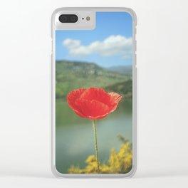 Flower Photography by Aziz Acharki Clear iPhone Case