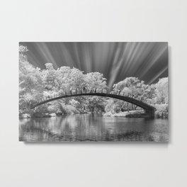 bridge over the river Metal Print