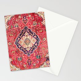 Tabriz Antique Persian Rug Print Stationery Cards