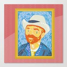 Selfie Van Gogh Canvas Print