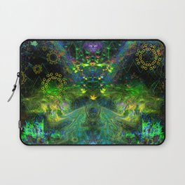 Rain Light Tears (totem, visionary, psychedelic) Laptop Sleeve