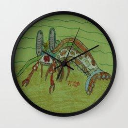Mantis Shrimp Wall Clock