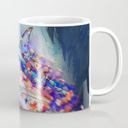 Marlin Van Pixel Coffee Mug