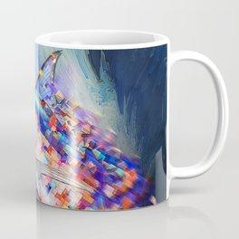 Marlin Van Pixel Coffee Mug