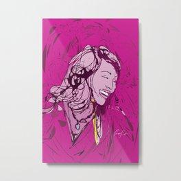Digital Drawing #1 Metal Print