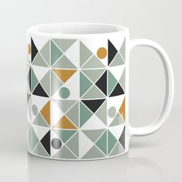 A Mishap of Some Trangles with a Few Dots Thrown In Coffee Mug
