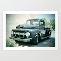 ford Art Prints featuring Ford by Photofrazzle